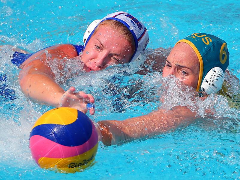 Женская сборная России по водному поло крупно проиграла команде Австралии в своем стартовом матче в рамках олимпийского турнира