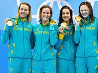 Австралийцы выиграли два олимпийских золота в первый соревновательный день у пловцов