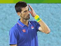 Лучший теннисист мира вылетел в первом же круге олимпийского турнира