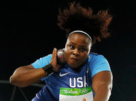 Американка Картер дальше всех толкнула ядро на Олимпиаде в Рио-де-Жанейро