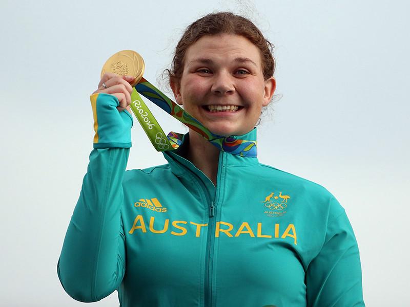 Австралийка Кэтрин Скиннер завоевала золотую медаль в соревнованиях по стендовой стрельбе на Олимпийских играх в Рио-де-Жанейро, первенствовав в дисциплине трап