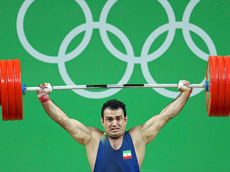 Иранский тяжелоатлет Зохраб Моради стал обладателем золотой медали в весовой категории до 94 кг на Олимпиаде 2016 года в Рио-де-Жанейро. Моради гарантировал себе победу с результатом 403 кг (182 в рывке и 221 в толчке)