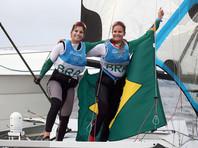 Бразильянки добыли золото домашней Олимпиады в парусной регате