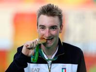 Итальянский велогонщик Элиа Вивиани - олимпийский чемпион в омниуме