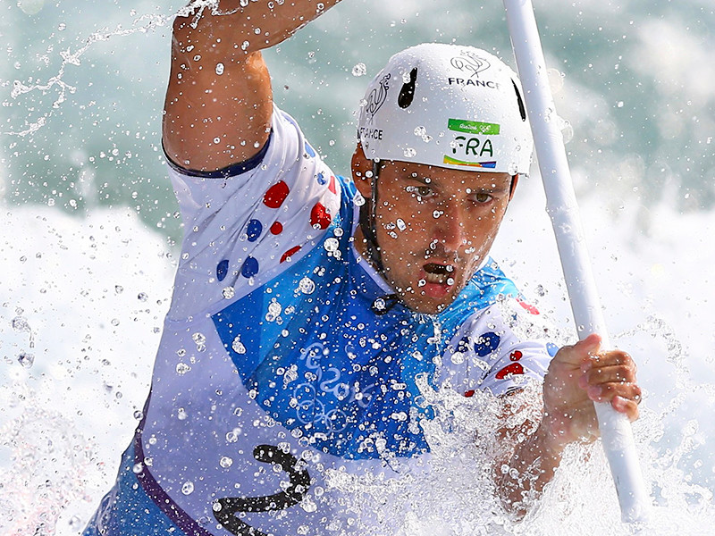 Французский слаломист Гарго Шаню стал олимпийским чемпионом в каноэ-одиночке