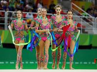 Сборная России по художественной гимнастике завоевала золото Олимпийских игр 2016 года в соревнованиях групп