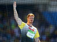 Немец Кристоф Хартинг, дальше всех метнув диск, стал олимпийским чемпионом