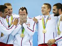 Сербские ватерполисты впервые в истории выиграли золото Олимпиады