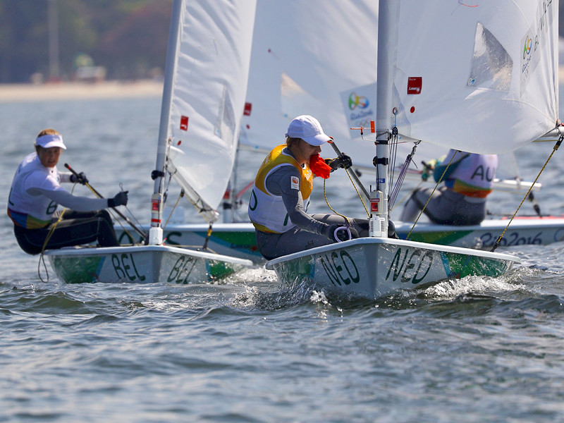Во вторник в Рио-де-Жанейро состоялись сразу четыре медальные гонки олимпийского турнира по парусному спорту