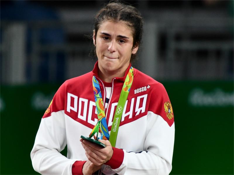 Наталья Ворьбьева завоевала серебро Олимпиады в борьбе с японкой