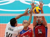 Волейболисты РФ потерпели первое поражение в олимпийском турнире