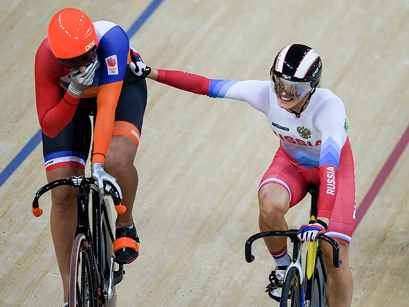Российская велогонщица Анастасия Войнова заняла четвертое место по итогам кейрина на Олимпийских играх в Рио-де-Жанейро. Золотую медаль в этом виде программы со временем 11,217 секунды выиграла голландка Элис Лигтле