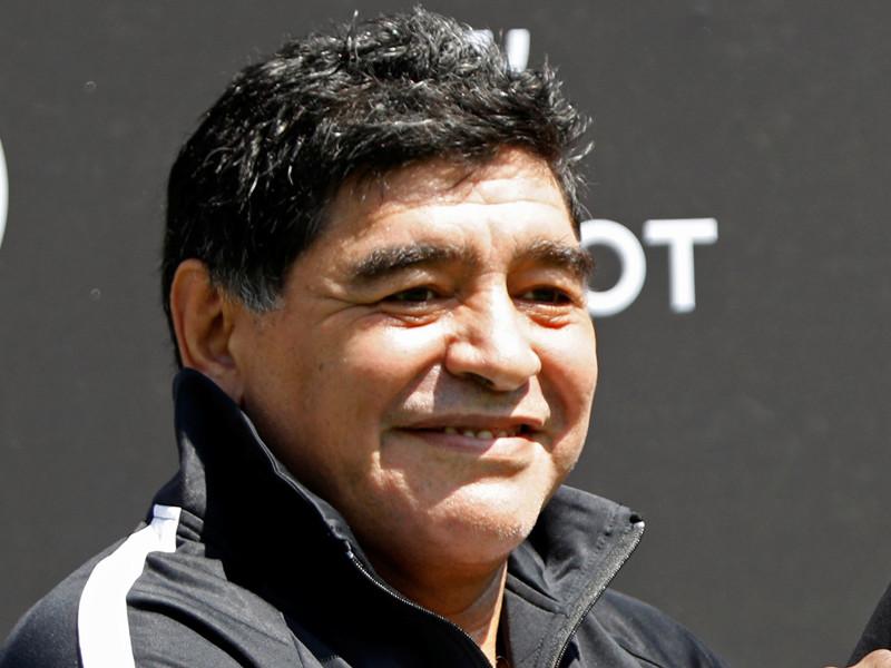 Марадона признал внебрачного сына спустя три десятка лет