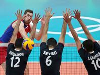 Российские волейболисты обыграли иранцев на Олимпиаде