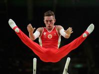 Гимнаст Давид Белявский завоевал бронзу Игр-2016 в упражнении на брусьях