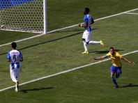 """Нападающий каталонской """"Барселоны"""" и сборной Бразилии по футболу Неймар забил самый быстрый гол в истории Олимпийских игр"""