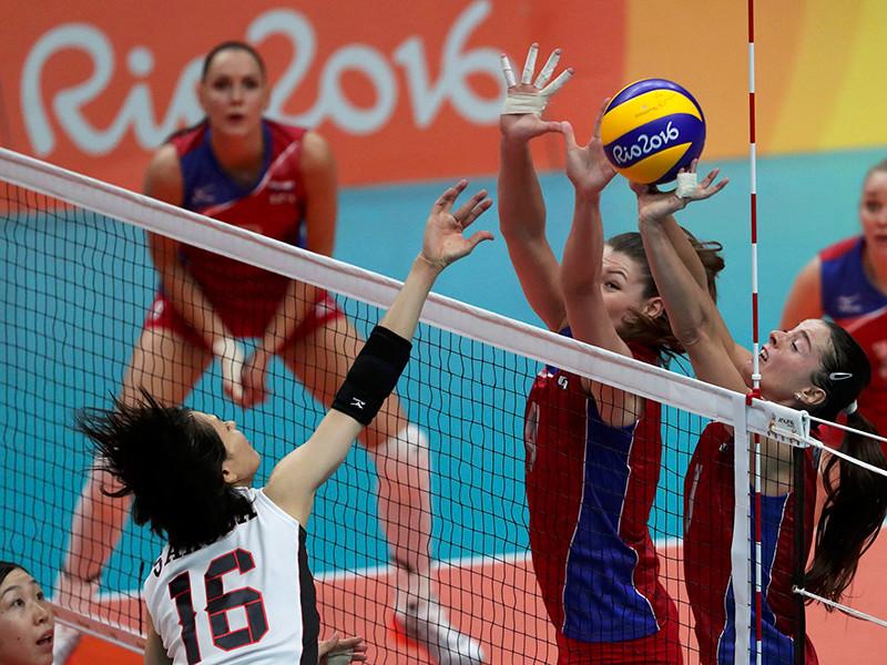 Женская сборная России по волейболу одержала уверенную победу над командой Японии в матче олимпийского турнира, выиграв в четвертом матче подряд