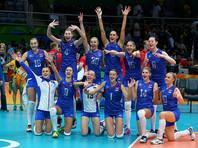 Волейболистки сборной России победно стартовали на олимпийском турнире
