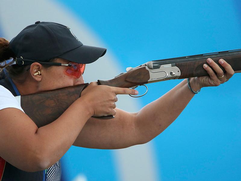 Итальянка Диана Бакоси завоевала золото Олимпийских игр в Рио-де-Жанейро в стендовой стрельбе в дисциплине скит
