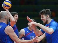 Российские волейболисты гарантировали себе выход в плей-офф в Рио