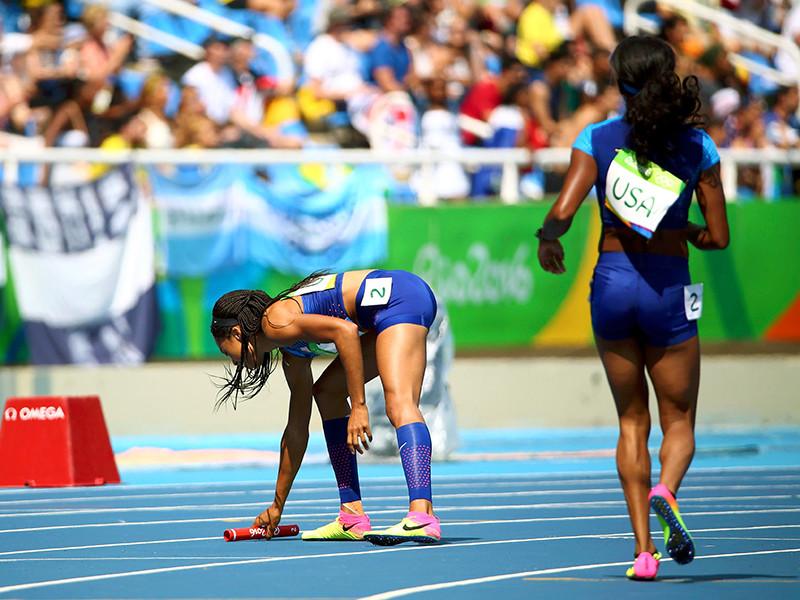 Женская сборная США по легкой атлетике сможет еще раз пробежать квалификацию эстафеты 4x100 метров на Олимпийских играх в Рио-де- Жанейро