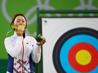 Олимпийской чемпионкой в стрельбе из лука стала кореянка Чан Хе Джин