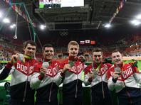 Российские гимнасты завоевали серебряные медали Олимпиады в многоборье