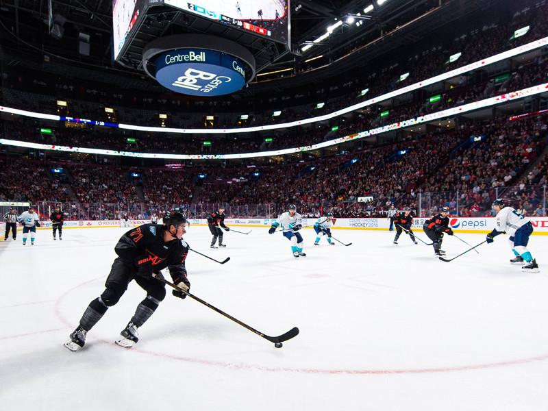 Американские хоккеисты победили европейцев перед стартом Кубка мира