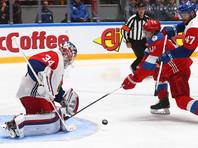 Российские хоккеисты одержали волевую победу над чехами