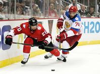 Российские хоккеисты проиграли Канаде в выставочном матче Кубка мира