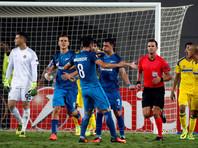"""""""Зенит"""" и """"Краснодар"""" победно стартовали в Лиге Европы УЕФА"""