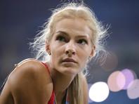 Прыгунья Дарья Клишина не вернется в Россию до завершения карьеры