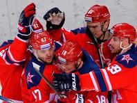 ЦСКА победил СКА, продлив свою победную серию в КХЛ до семи матчей