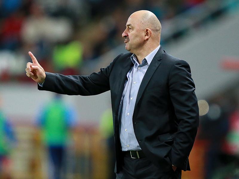Главный тренер сборной России по футболу Станислав Черчесов  отметил, что ему больше понравилась игра его команды в первом тайме