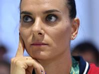 Елена Исинбаева решила возглавить Всероссийскую федерацию легкой атлетики