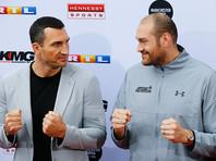 Бой-реванш между Кличко и Фьюри пройдет 29 октября