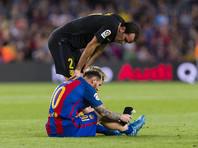 Лионель Месси получил травму в матче чемпионата Испании