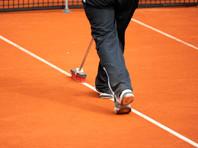 На турнире в Касабланке подожгли облитый бензином теннисный корт