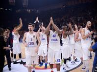 Баскетболисты московского ЦСКА уверенно начали защиту титула в Евролиге