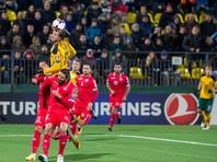 В Литве во время отборочного матча ЧМ-2018 провалился пол одной из трибун