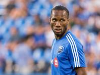 Нападающий Дрогба оштрафован за отказ играть в матче MLS