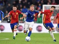 Италия и Испания разошлись миром в отборочном турнире ЧМ-2018