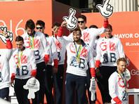 В чествовании британских олимпийцев в Манчестере поучаствовали двое самозванцев