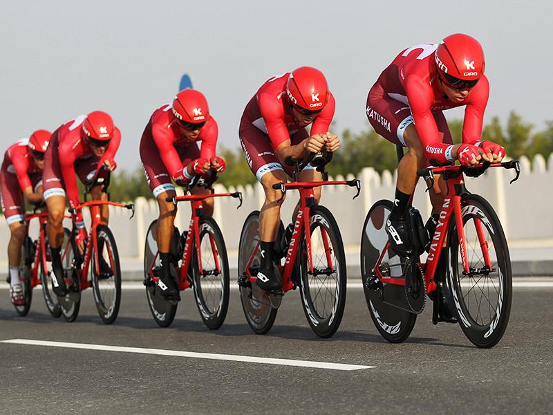 """Велокоманда """"Катюша"""" будет зарегистрирована в Мировом туре-2017 под названием """"Катюша-Alpecin"""" и будет выступать под нейтральным швейцарским флагом"""