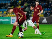 Молодежная сборная РФ по футболу показала худший результат в истории