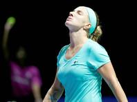 Светлана Кузнецова не смогла пробиться в финал итогового турнира WTA