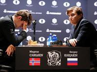 Карякин сыграл вничью с Карлсеном в пятой партии матча за шахматную корону