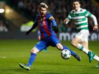 """Дубль Месси вывел """"Барселону"""" в плей-офф Лиги чемпионов УЕФА"""