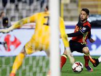 Сборная Бельгии забила восемь мячей эстонцам в отборе к ЧМ-2018