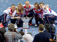 Чешские теннисистки в третий раз подряд выиграли Кубок Федерации